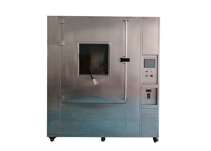 100 ~ 150MM Jet Distance Ingress Protection Test Equipment / IPX9K High Pressure Fan Spray Test Chamber